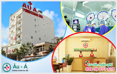 Bệnh viện da liễu tốt nhất TPHCM - Phòng Khám Đa Khoa Âu Á
