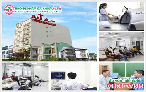 Phòng khám chữa bệnh da liễu - Đa Khoa Âu Á luôn đảm bảo các mức chi phí thăm khám và chữa trị bệnh công khai minh bạch, niêm yết theo từng hạng mục mà Bộ y tế ban hành.