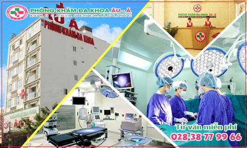 Phòng khám Đa Khoa Âu Á chữa bệnh chi phí thấp hiệu quả cao