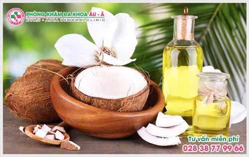 Cách chữa bệnh trĩ bằng dầu dừa dễ thực hiện