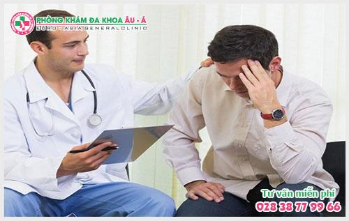 Phát hiện viêm bao quy đầu ở nam giới