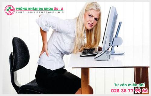 Một số triệu chứng thường gặp của bệnh trĩ nội
