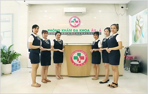 Thoát khỏi bệnh tật nhờ đến phòng khám Đa Khoa Âu Á