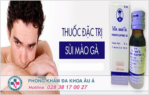 Thuốc chữa sùi mào gà của Thái Lan có hiệu quả không ?